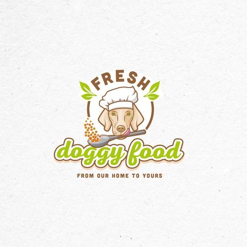 Logo for a company that make dog food