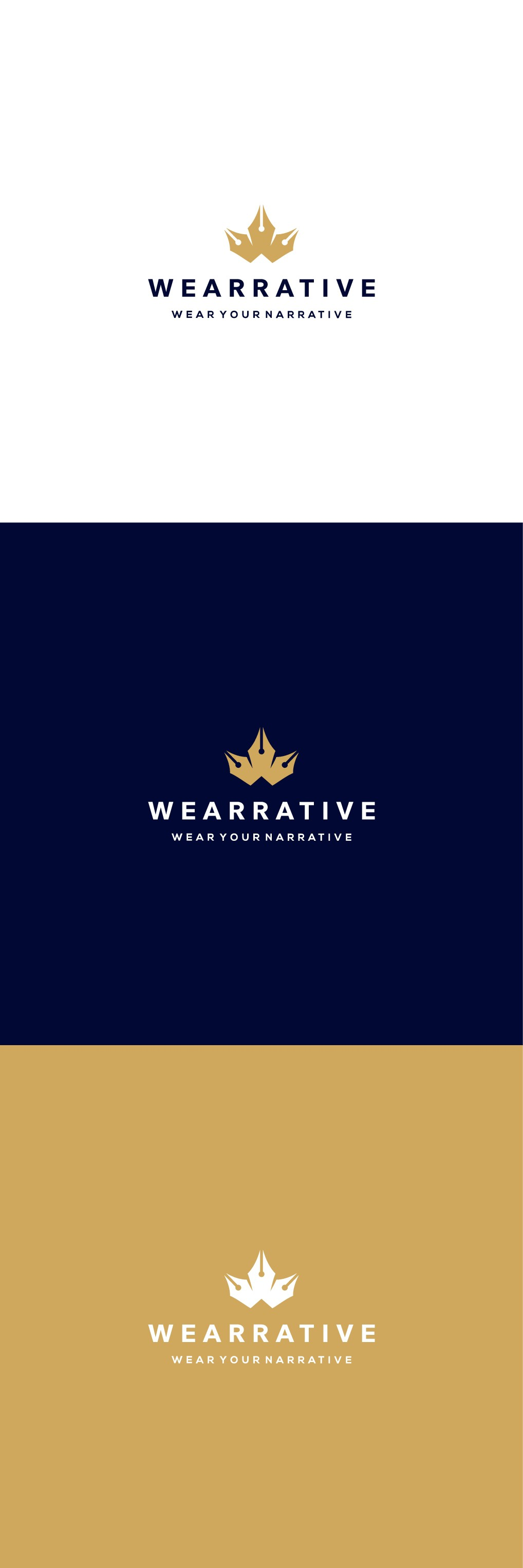 Logo for Wearrative: Wear Your Narrative!