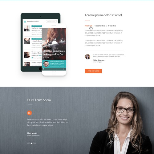 Wordpress Custom Theme Design for Innovative Tech Start-Up