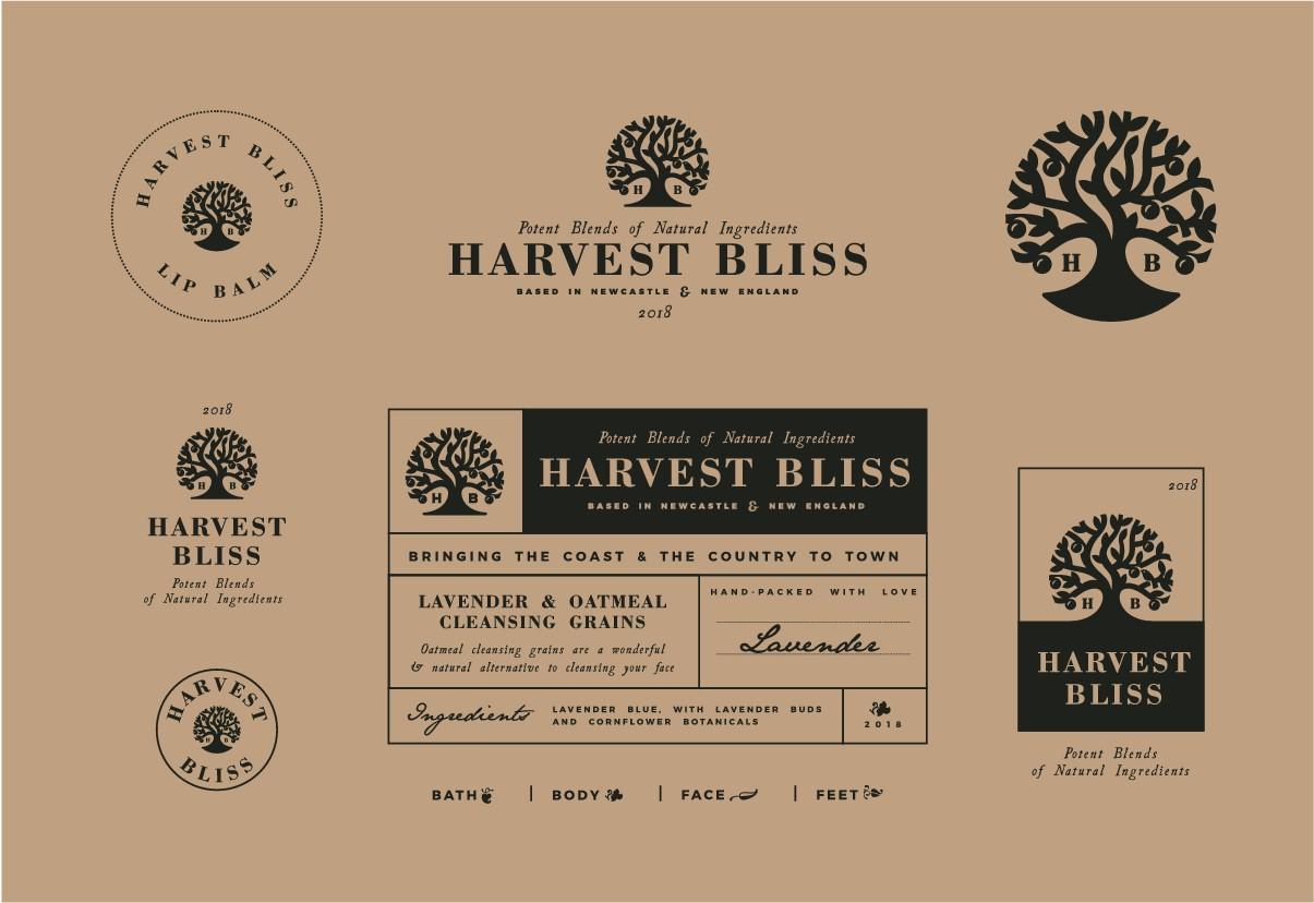 Harvest Bliss Logo Re-vamp