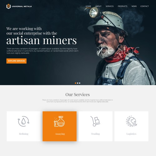 website for social precious metals refinery