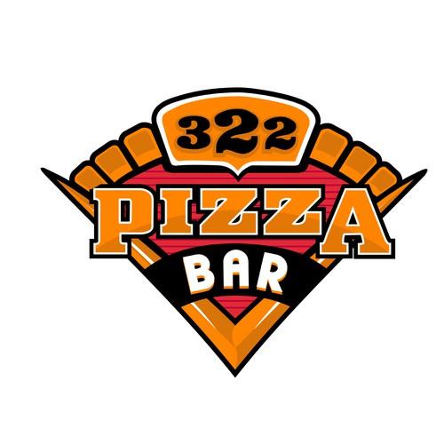bold logo pizza