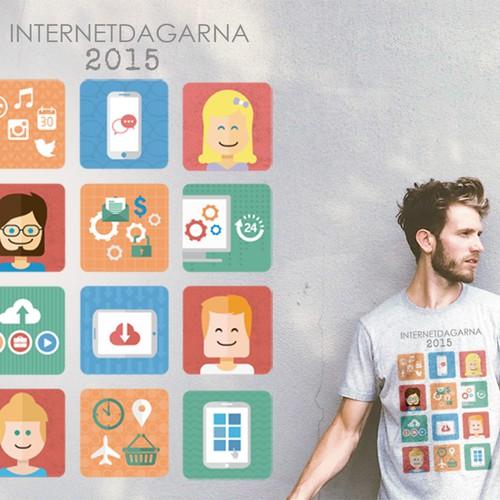 Internet Dagarna Shirt Design