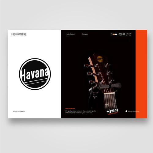 havana logo design