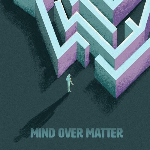 Cover design for a mental health book