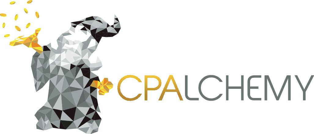 Design a fun cool logo for CPAlchemy.
