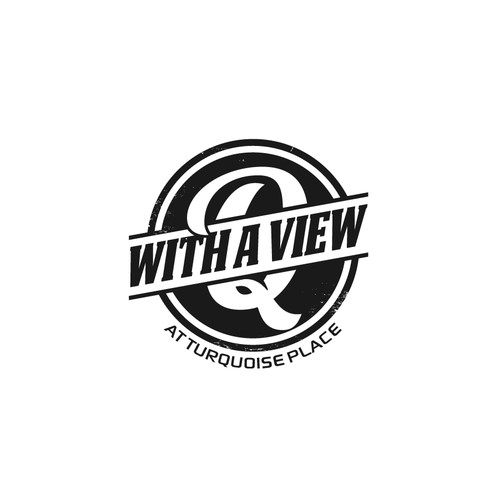 Vintage Logo for Q With A View