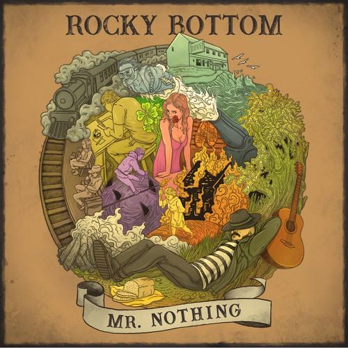 Album Cover Rocky Bottom Mr. Nothing