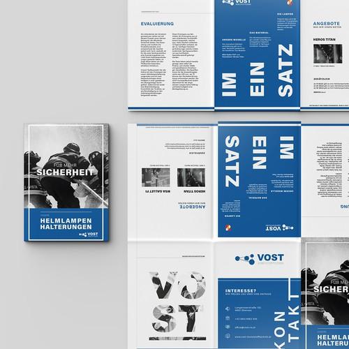 12 page leaflet design