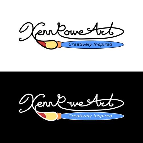 Creative Logo Concept for Art Supplier