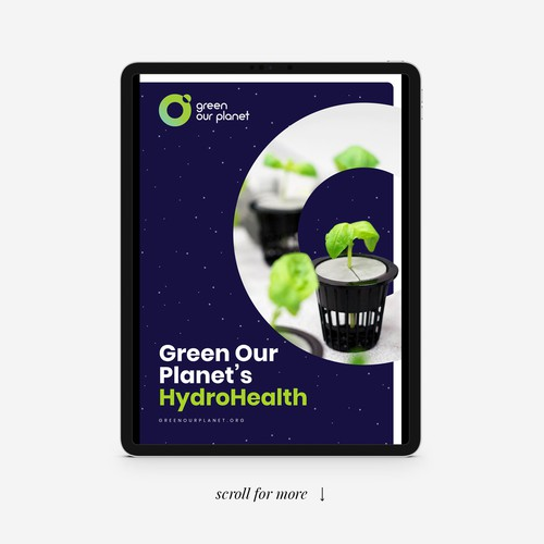 Green Our Planet's Brochure