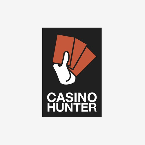 Casino Hunter Logo Design