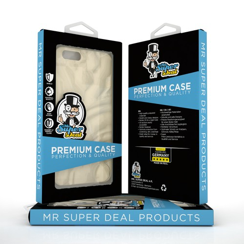 PRODUCT PACKAGING FOR MISTER SUPER
