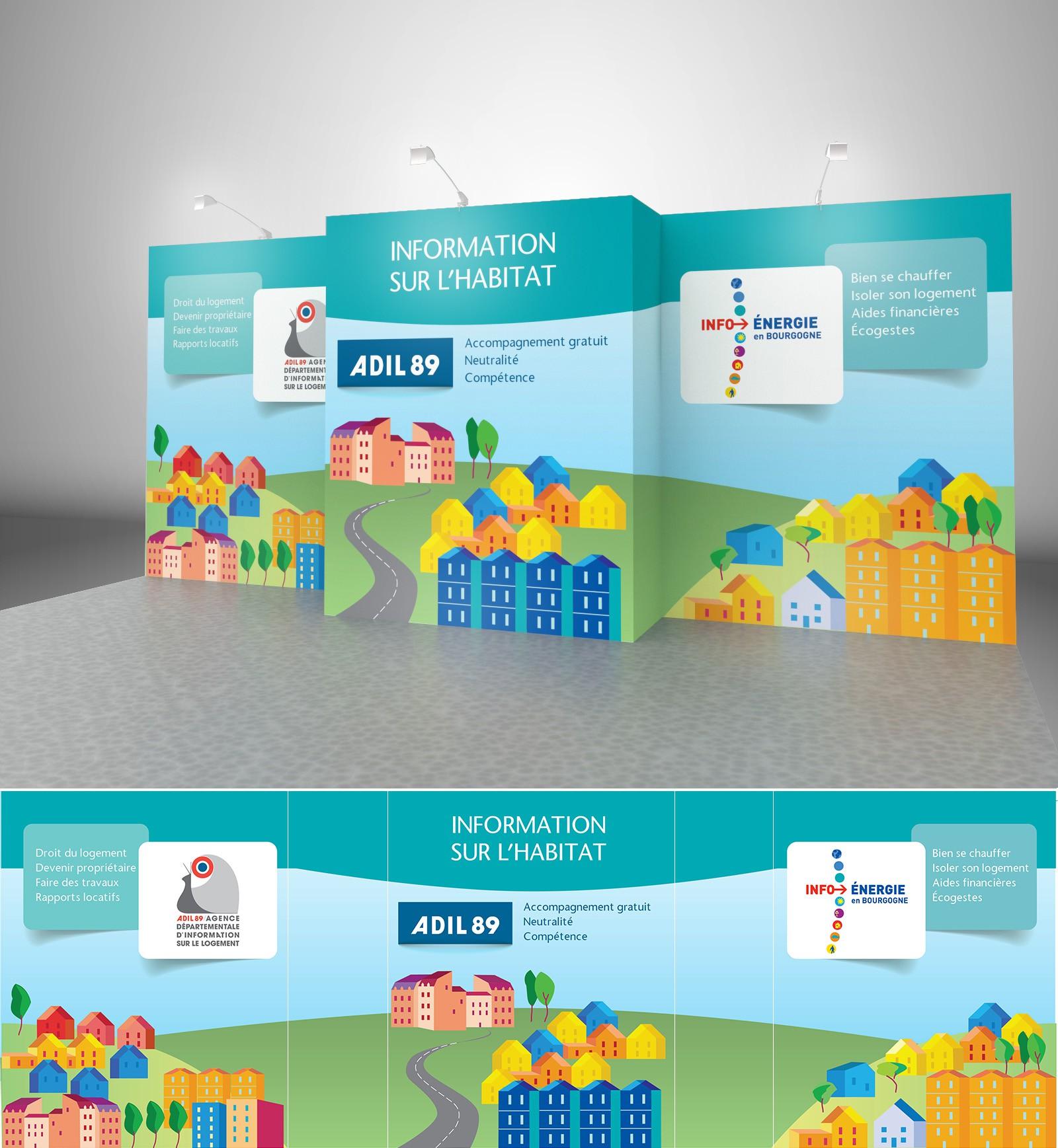 Trade Show Booth Design for non-profit organization