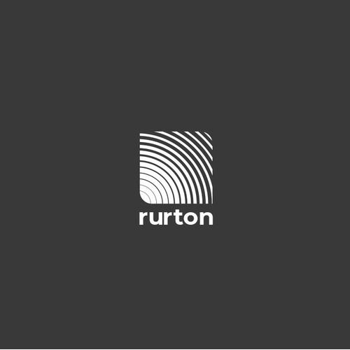 Rurton Studio Logo Design