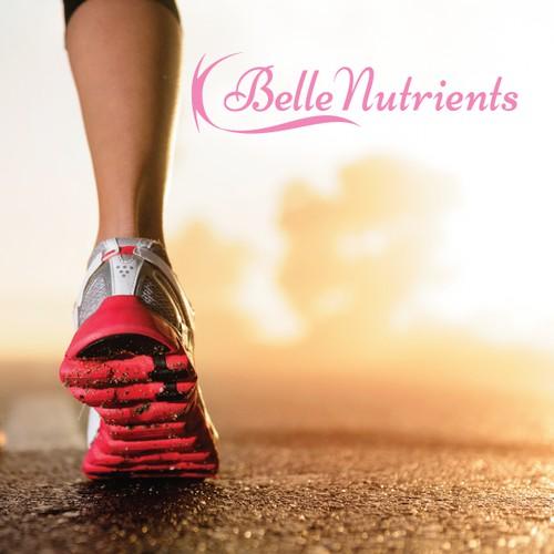 Smooth Logo Design for Belle Nutrients