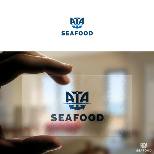 Logo for ATA sea food