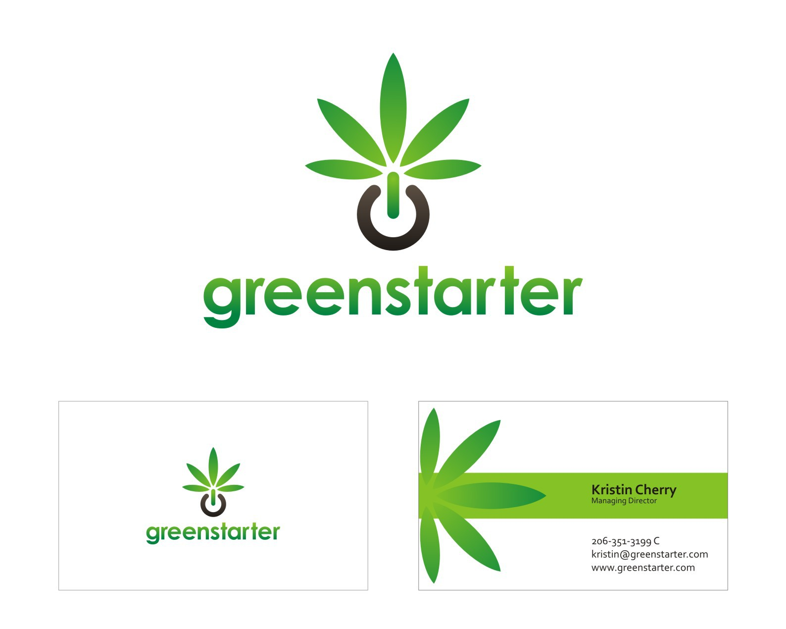 GREENSTARTER needs a logo for our cannabis startup consulting firm