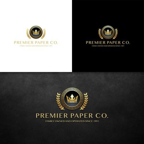 Premier Paper Co. Logo
