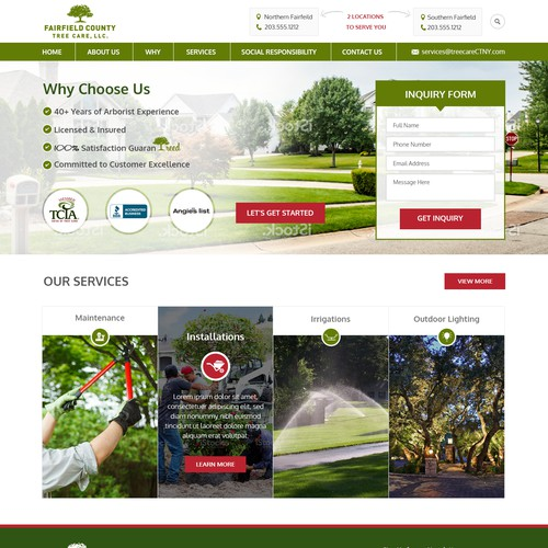 Be part of building the BEST Tree Care Website Ever!  Help us get started.. Thank YOU