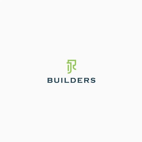 JR builders logo for branding
