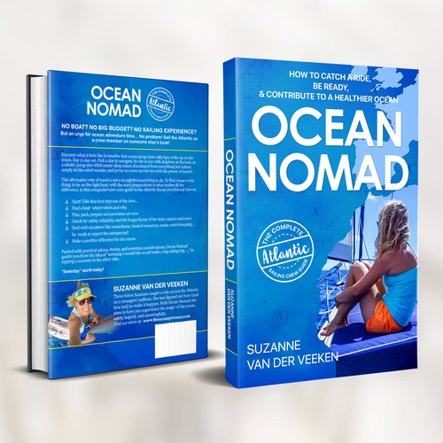"Book Cover for ""Ocean Nomad"""