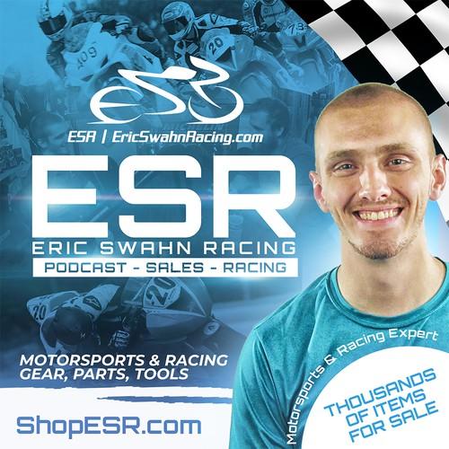 "ESR "" Eric Swahn Racing Podcast"""