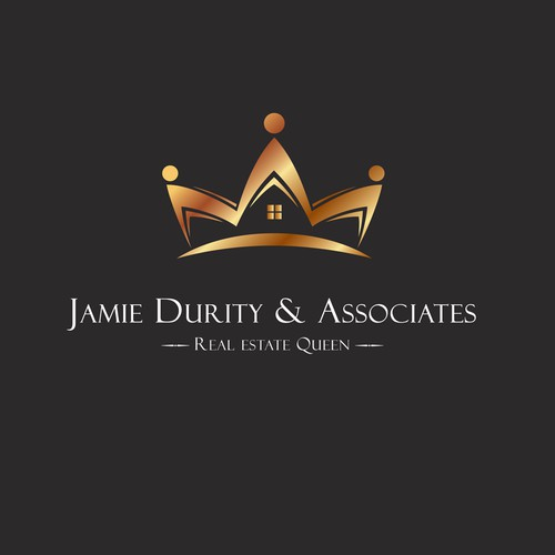 Jamie Durity Real Estate | Logo design