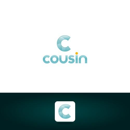 Logo for social media app