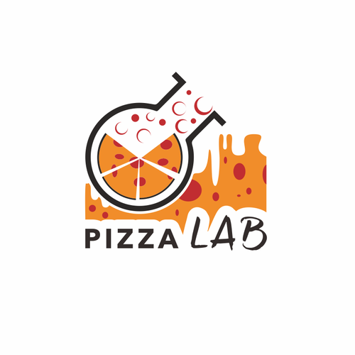 a modern sexy logo for Pizza Lab