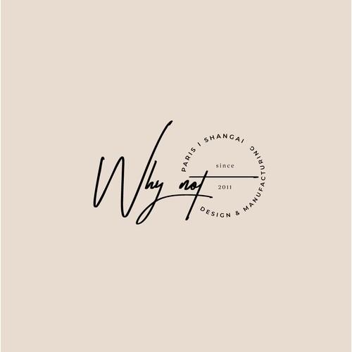 Logo design concept for WhyNot company