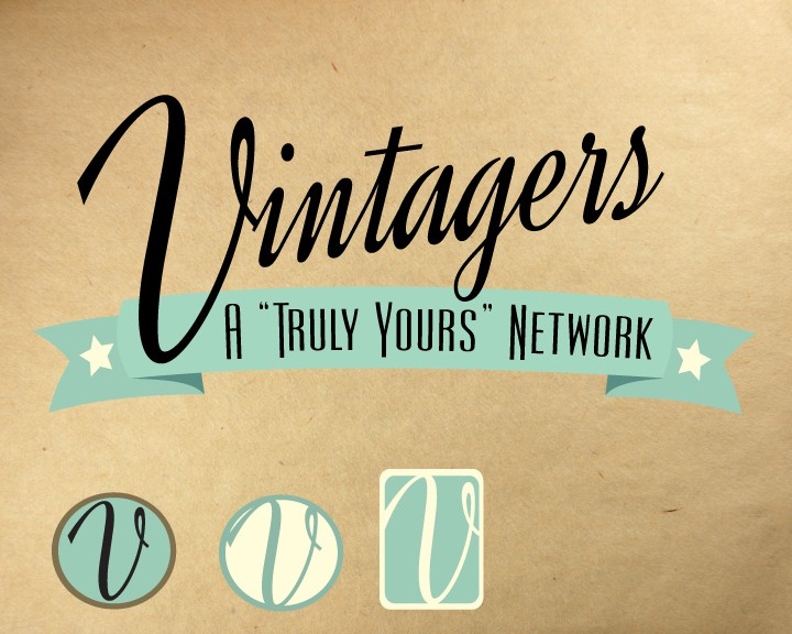 Vintage Community site Vintagers needs a real logo