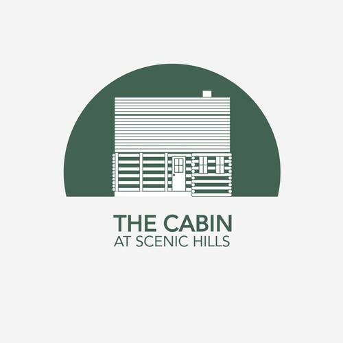 Logo for cabin rental