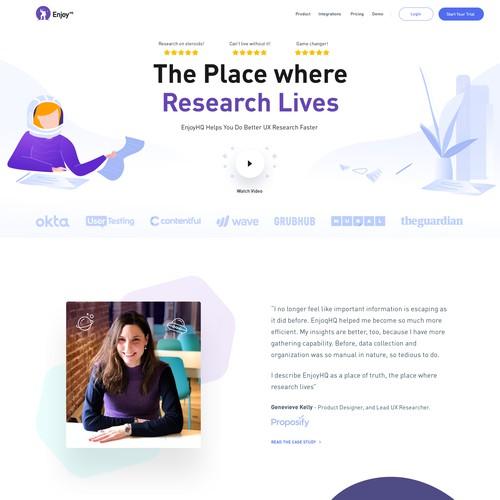 Customer Research Platform (Saas)