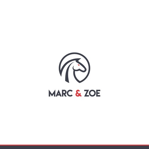 Classic yet sporty logo for sport accessories