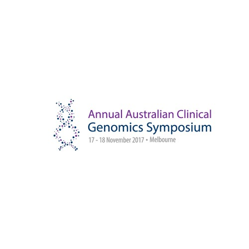Banner for ''Annual Australian Clinical Genomics Symposium''