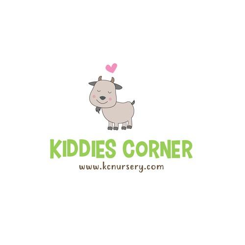 logo for a kids nursery center
