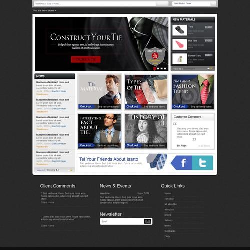 website design for isarto.com SEE ATTACHED FILE FOR DETAILS