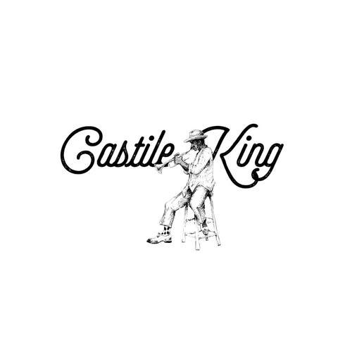 Create the logo for Castile King, jazz-pop-funk band