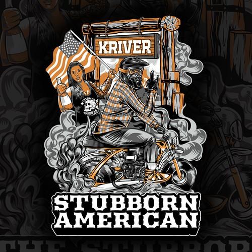 STUBBORN AMERICAN