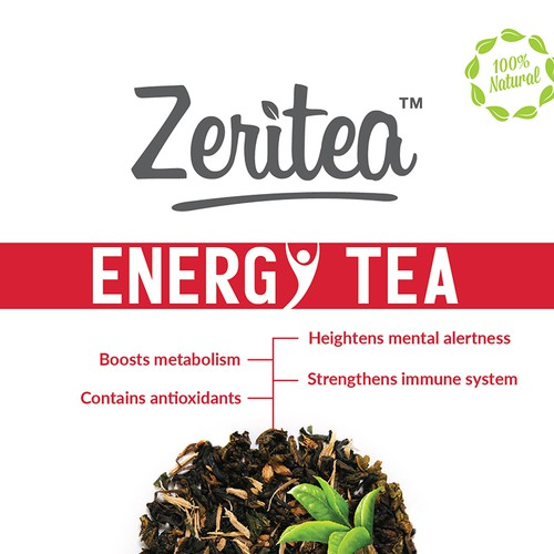 Winning design for Zaritea Tea