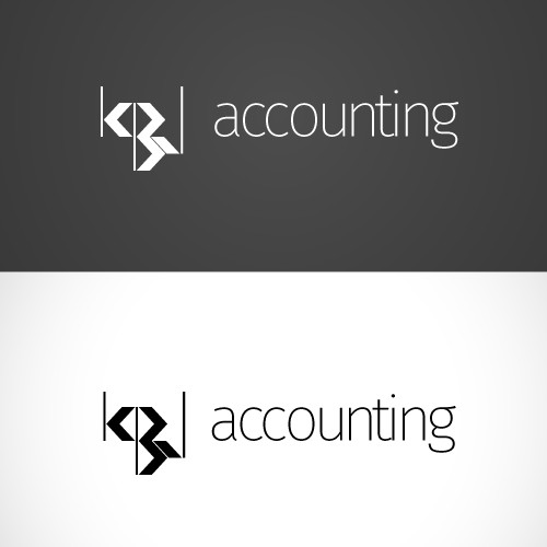 Create a unique logo with negative spaces for accounting firm servicing nonprofits.