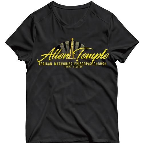 Rligious retro, urban t-shirt design