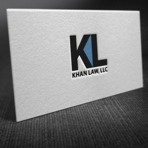 stationery for Khan Law, LLC