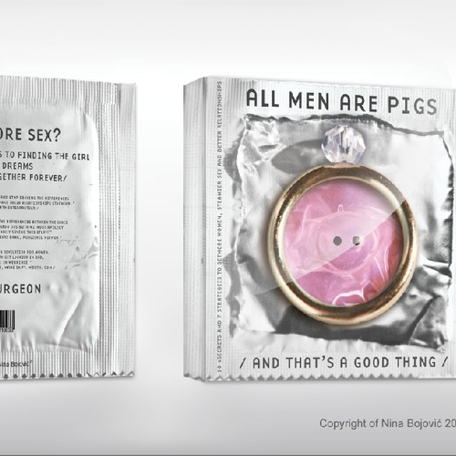 """New book or magazine cover wanted for  """"All Men Are Pigs"""""""