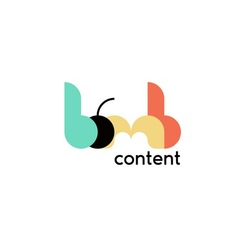Simple logo for automatic AI content management/scaling company