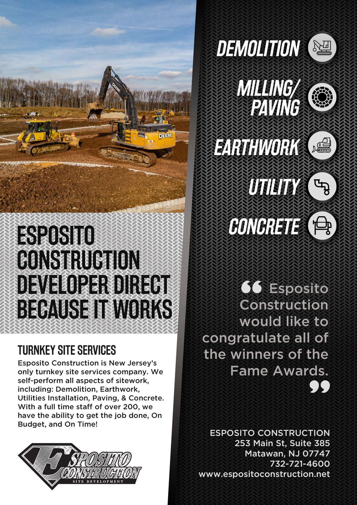Esposito Construction Advertisement