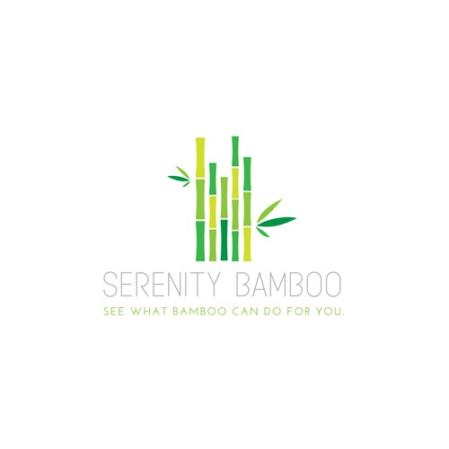 Logo for a bamboo product line