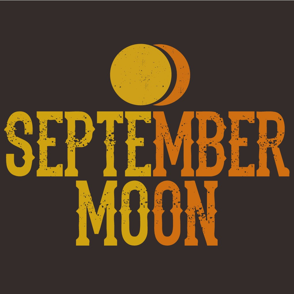 "Country Band ""September Moon"" band logo design"