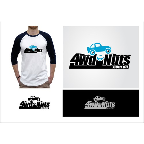 Logo for 4wdNuts.com.au - It's built by 4wd nuts, for 4wd nuts!